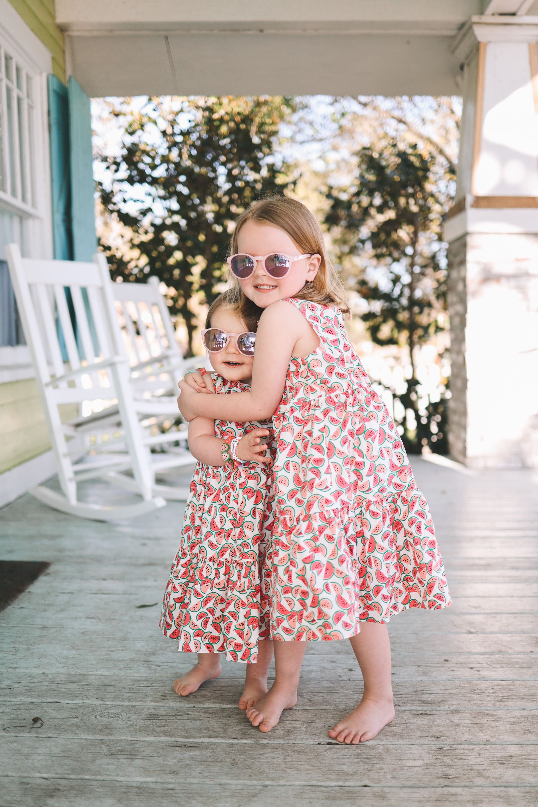 little girls watermelon dress