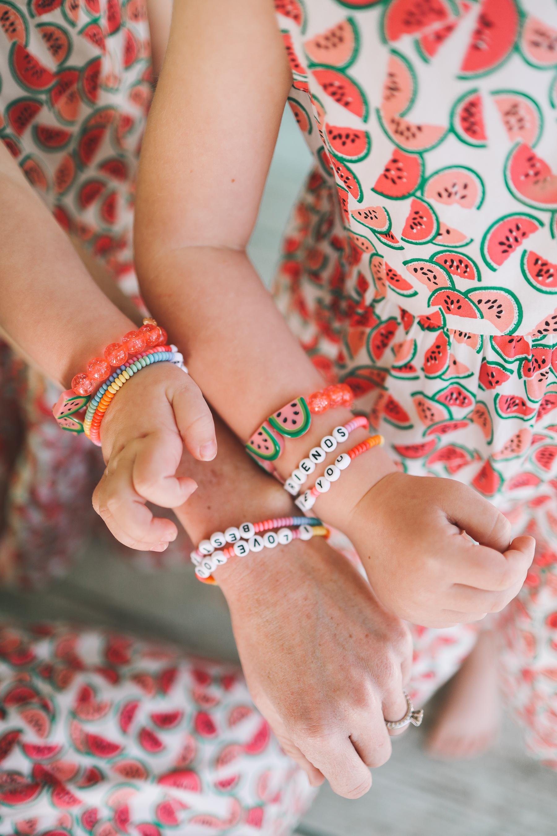 90's inspired bracelets