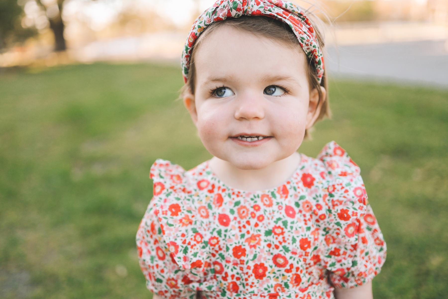toddler j.crew floral dress | Under the Oak Trees
