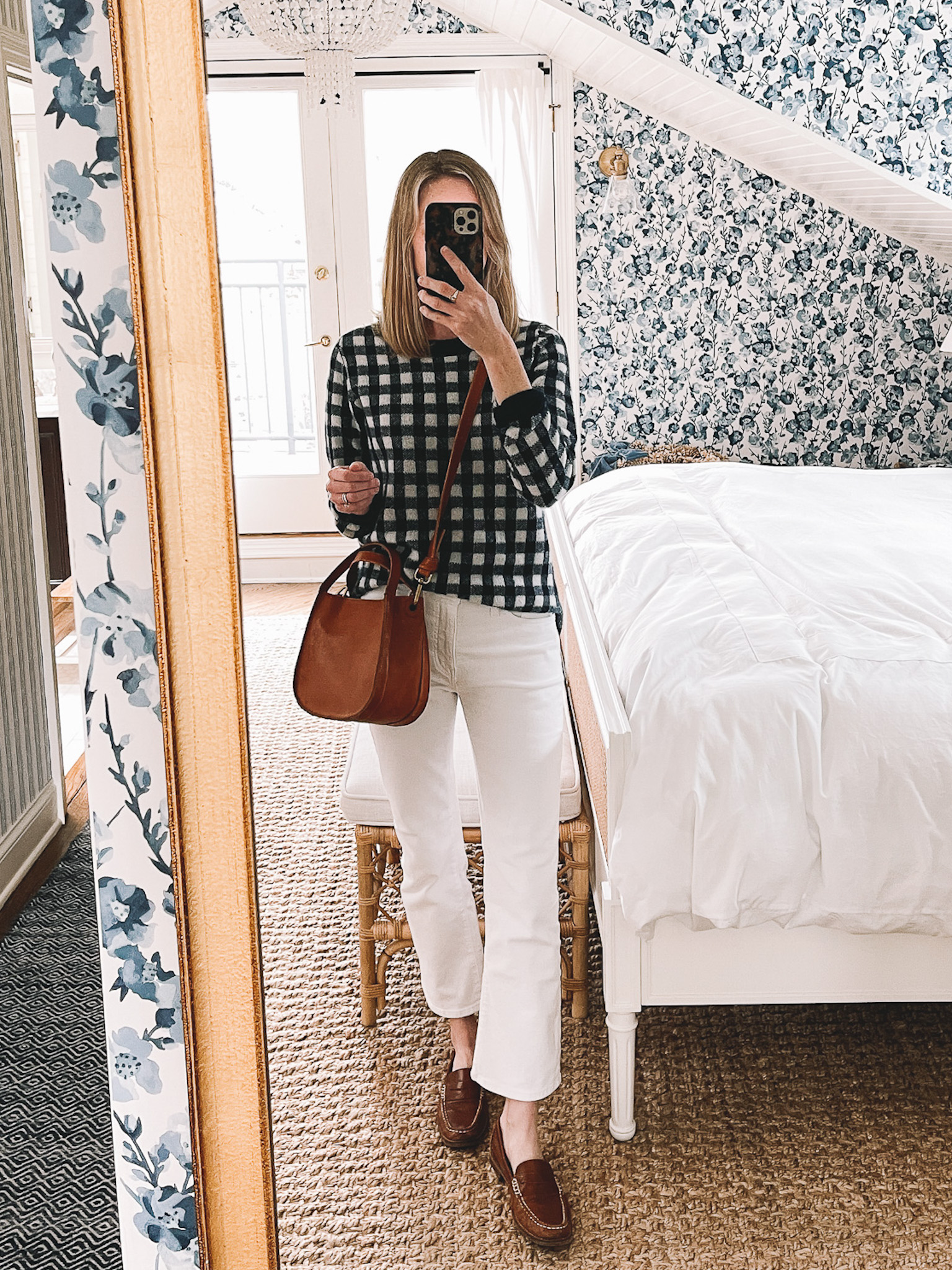 Recent Finds 4/16 | Cashmere Gingham Sweater