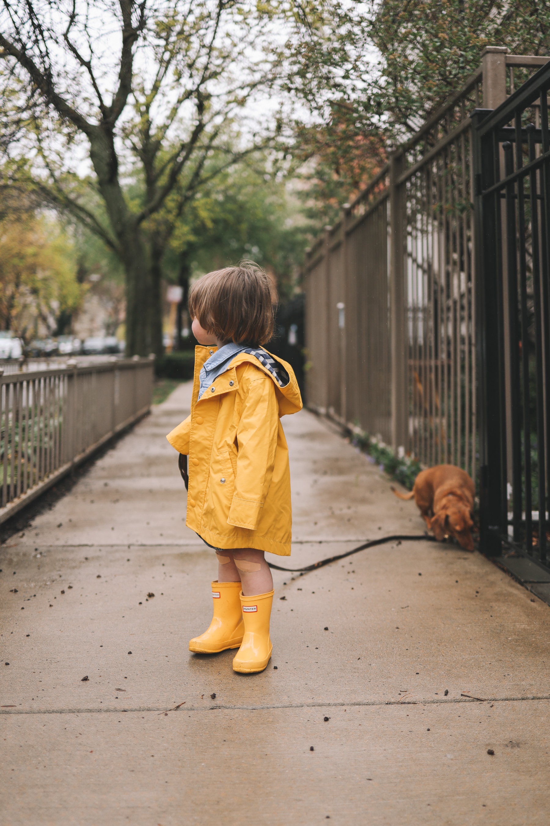 toddler hunter boots | Rory Gilmore Rainy Day Outfits