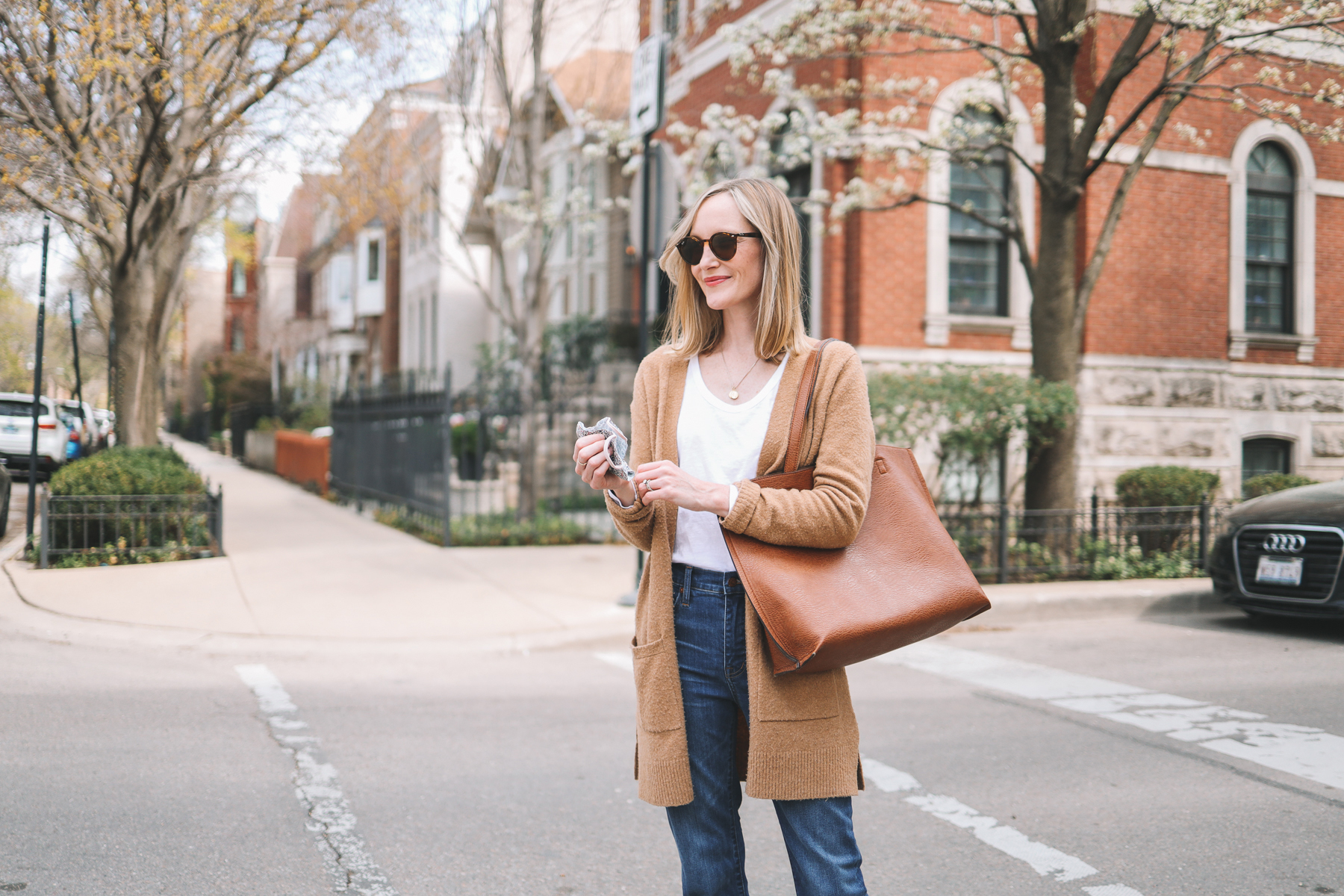 easy spring outfit idea | Go-To Casual Spring Outfit
