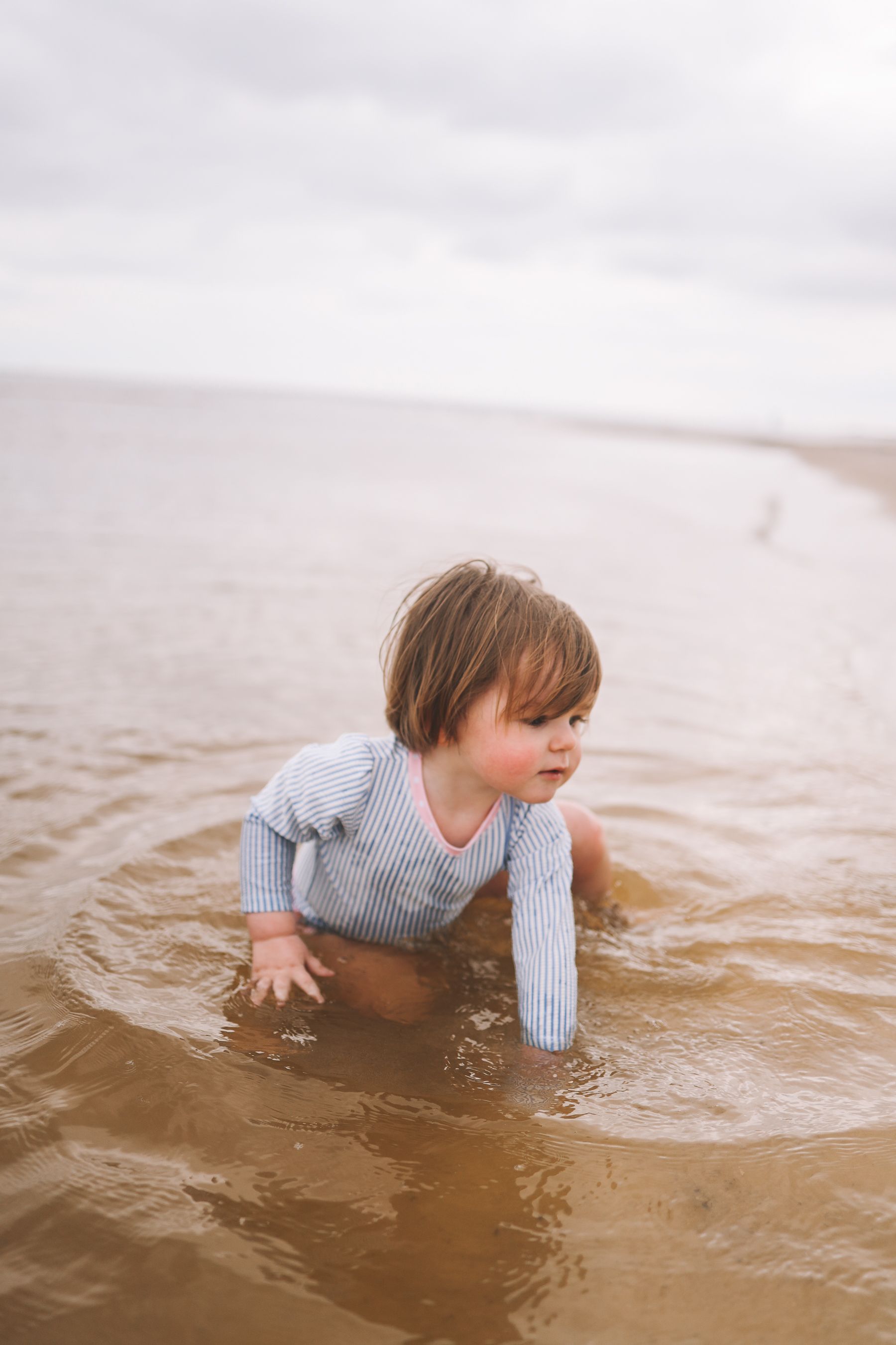 baby Rufflebutts Swimsuit | Gulf Beach Day