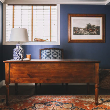 Pottery Barn Printer's Keyhole Desk Review