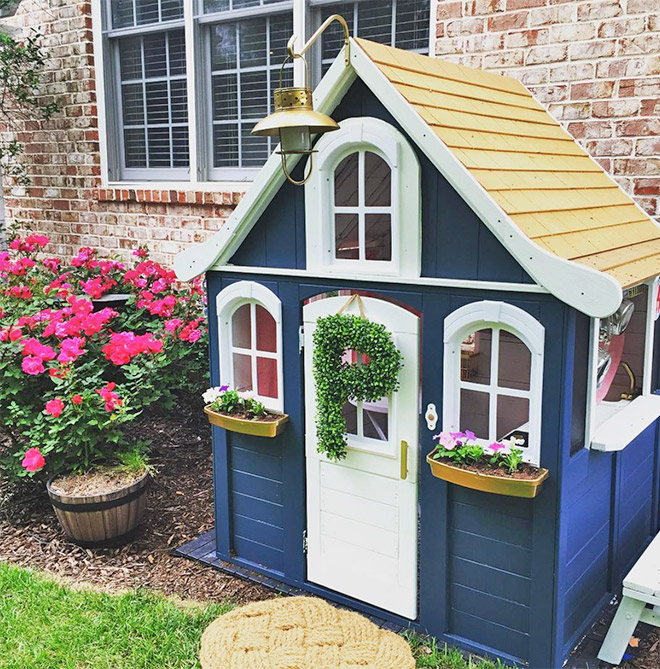 forest house theme play house