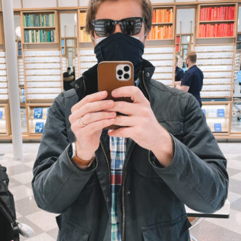 Warby Parker Sunglass Try-On with Mitch