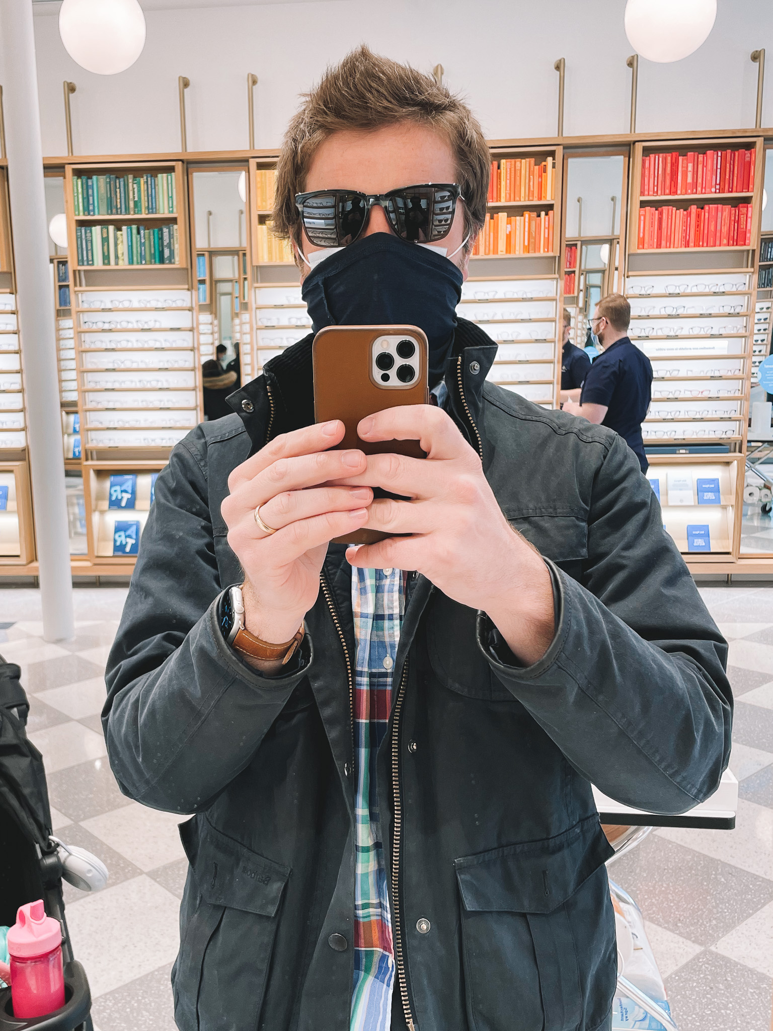 Warby Parker Sunglass Try-On