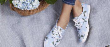 Recent Finds, 4/30 | Hydrangea Sneakers