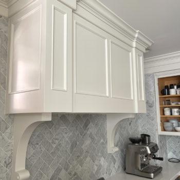 Kitchen Progress: Benjamin Moore Dove Wing