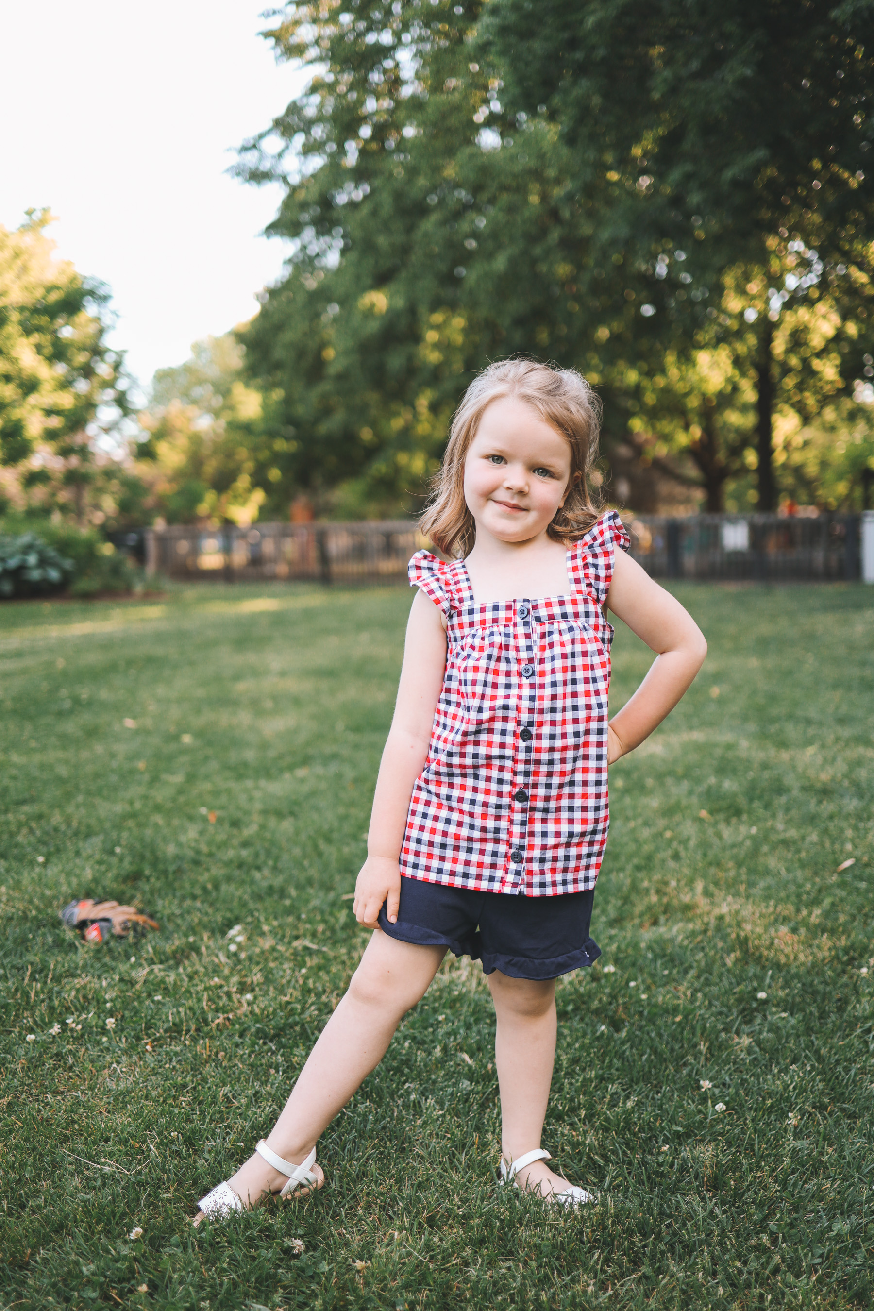 toddler summer outfit