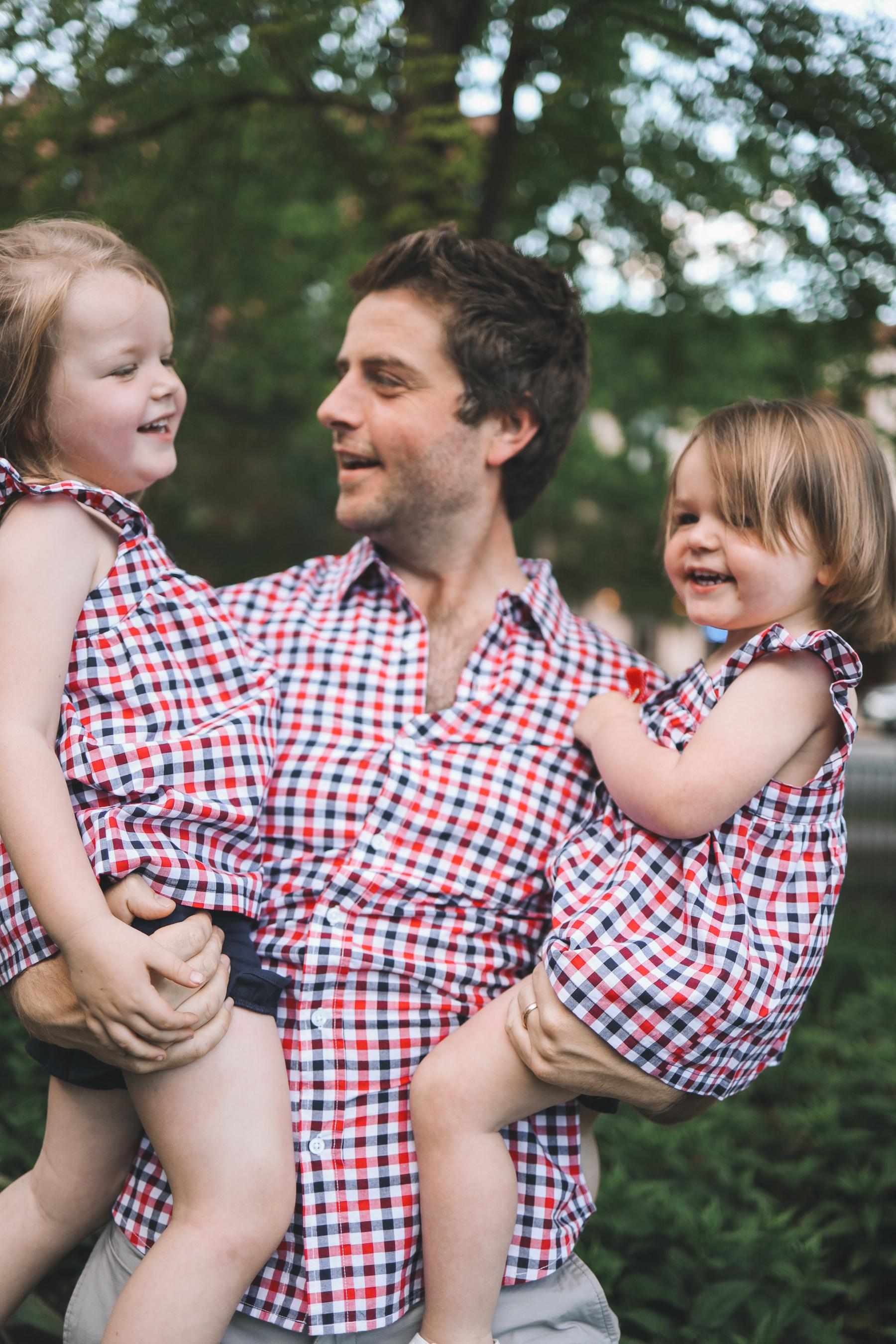 Toddler Americana Plaid 2-Piece Set