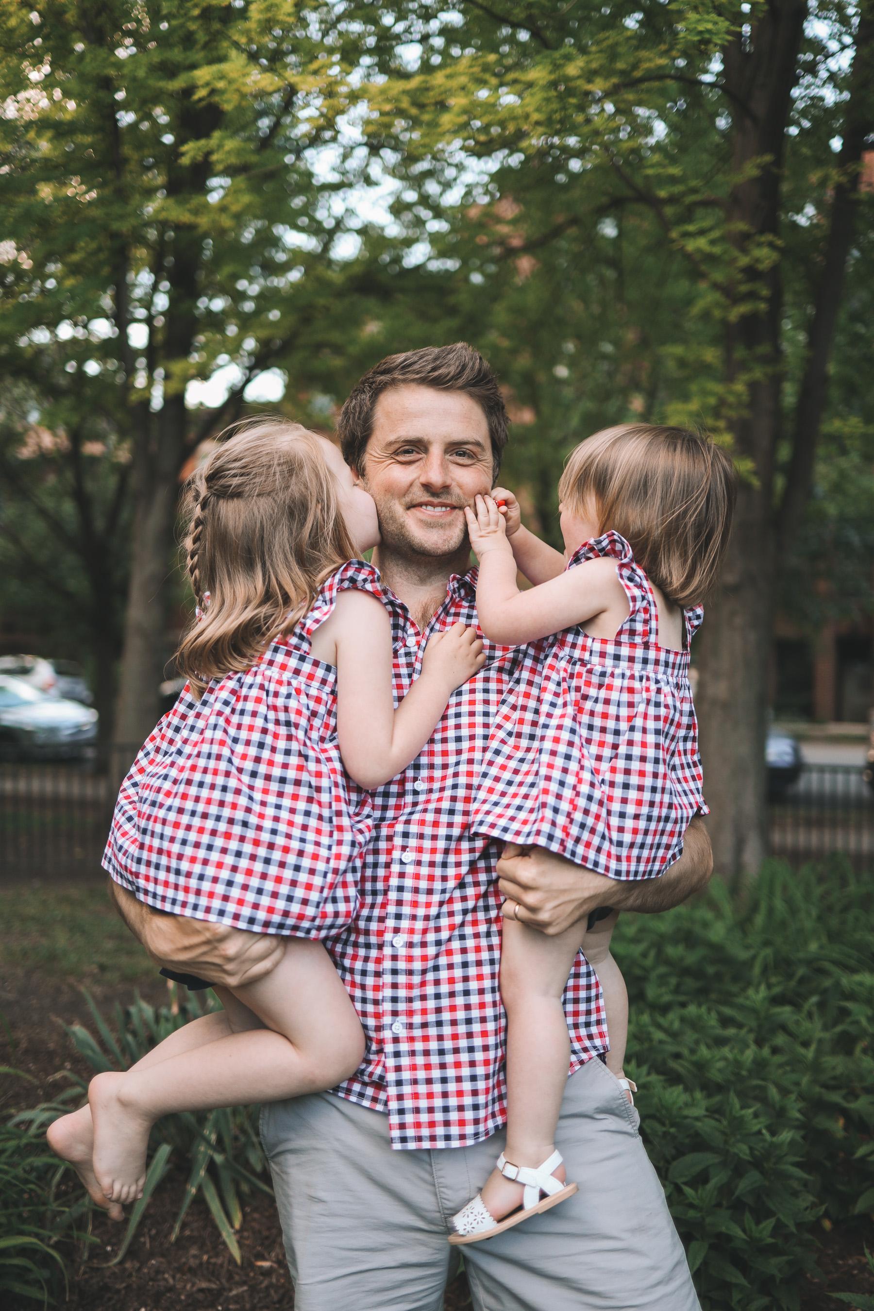mitch and kids