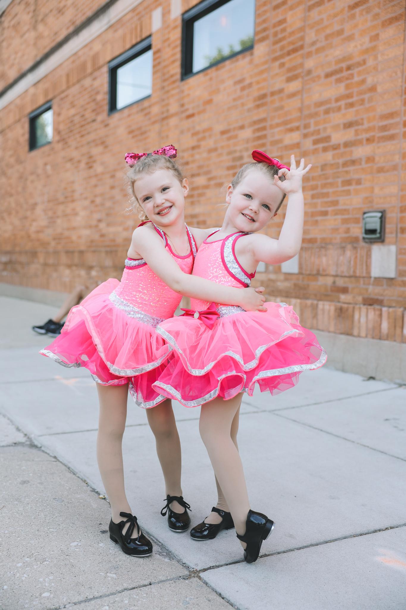 chicago little girls dress rehearsal