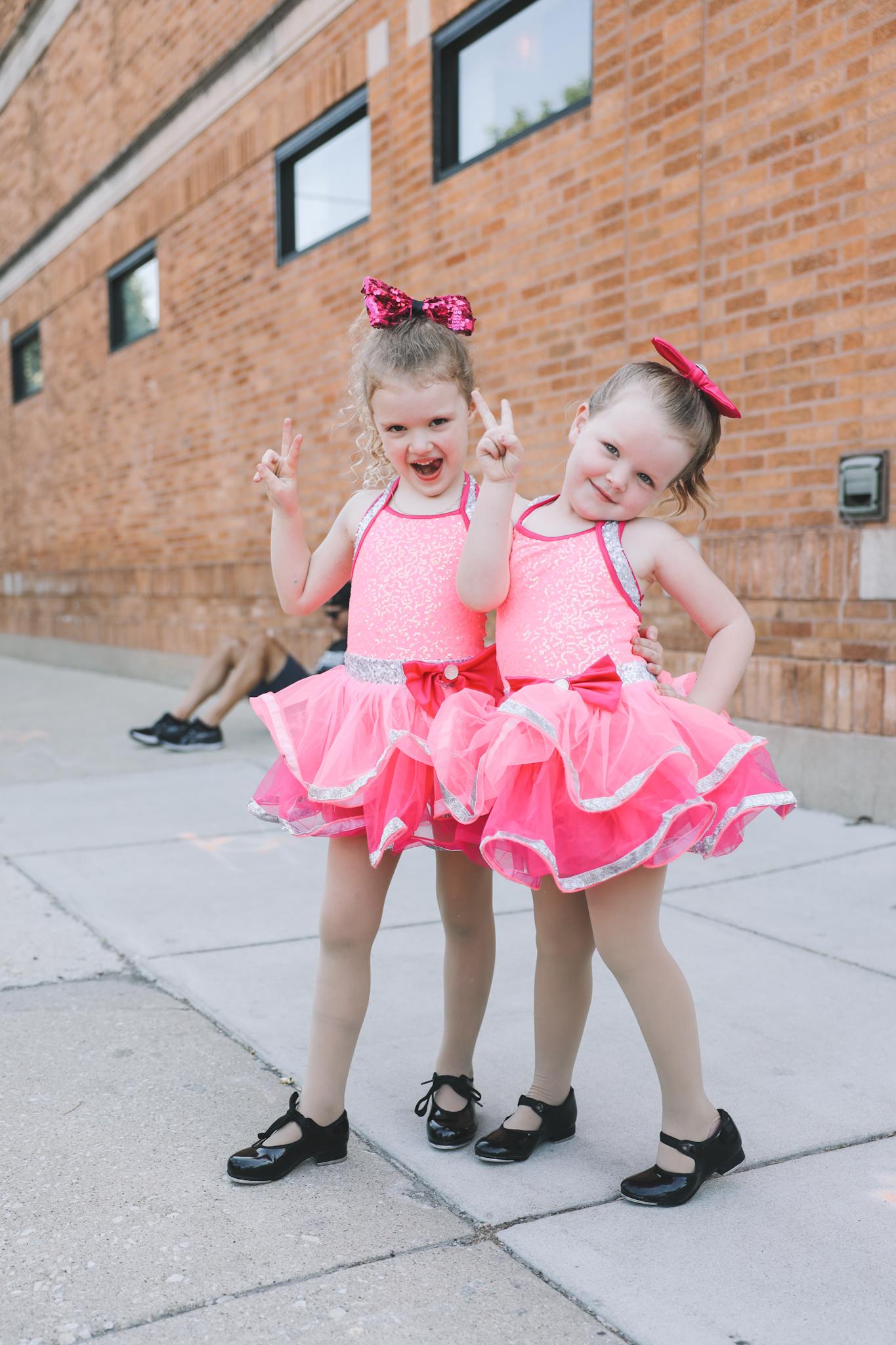 chicago kids dance dress rehearsal
