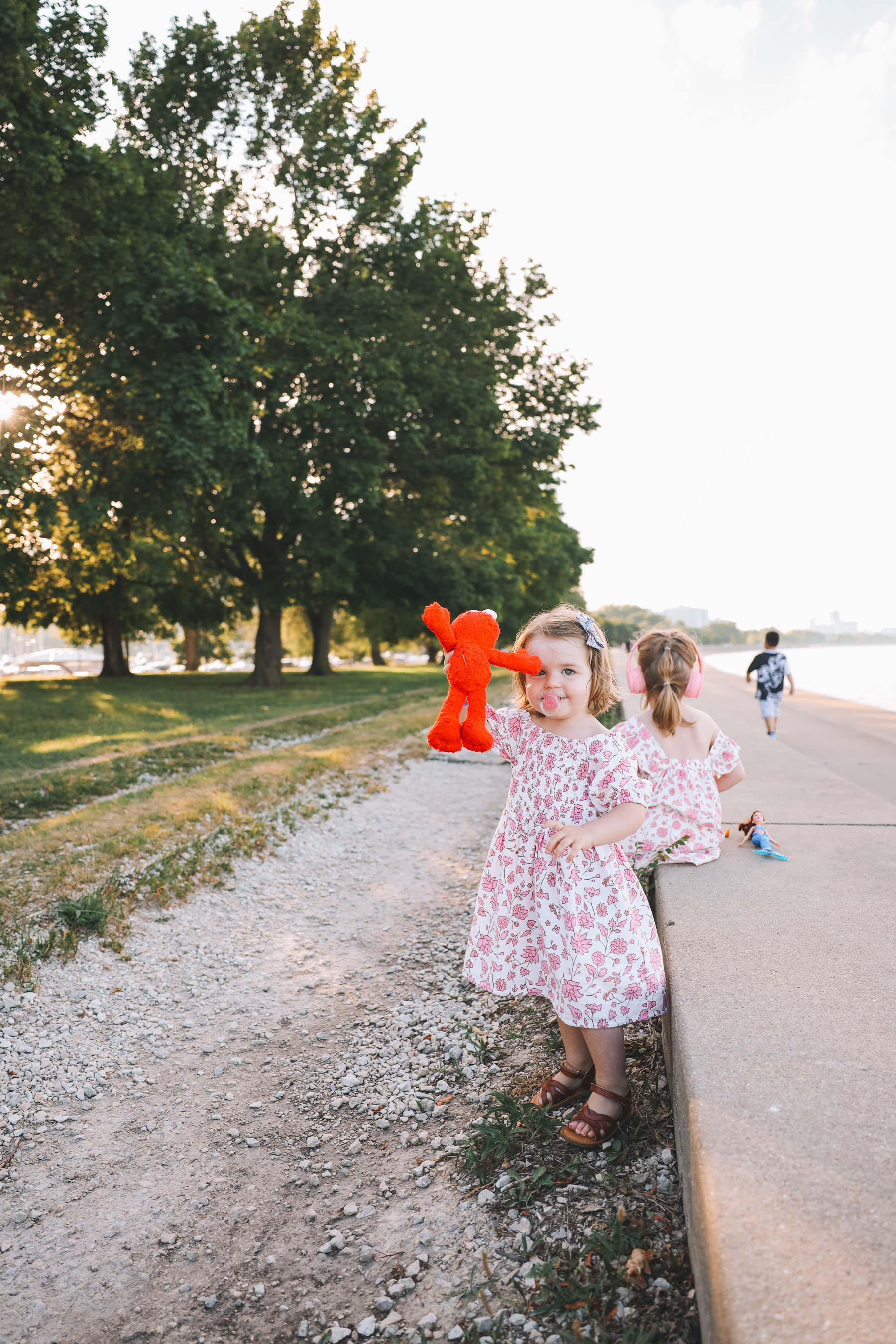 Toddlers Picnic on Belmont Harbor