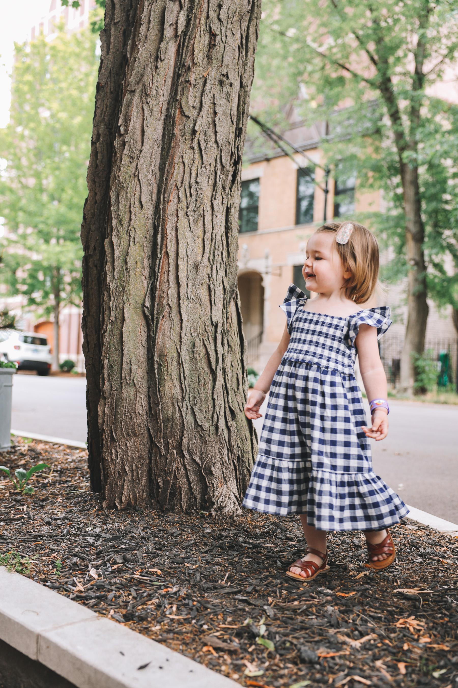 toddler gingham dress