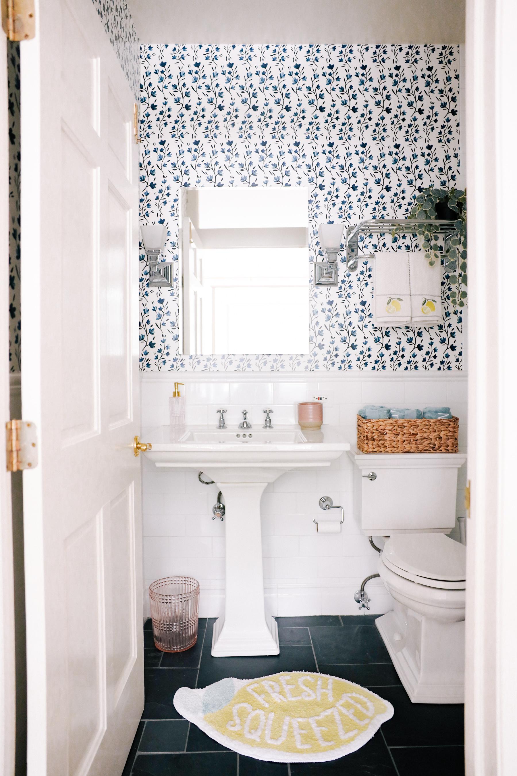 lemon bathroom walmart citrus collection