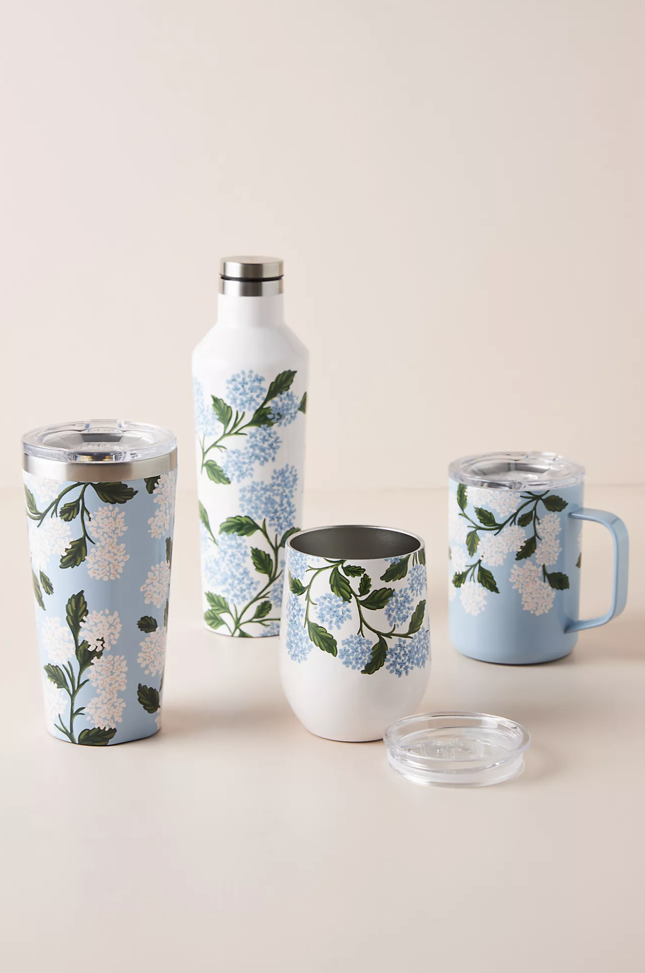 Insulated Hydrangea Drinkware Recent Home Finds 6/13