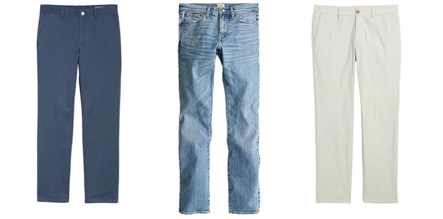 Mens Summer Pants Capsule Wardrobe