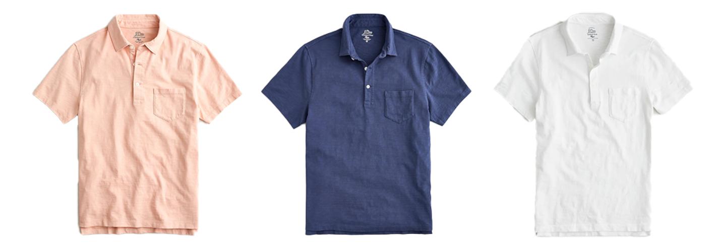 Mens Polo Shirts Summer Capsule Wardrobe