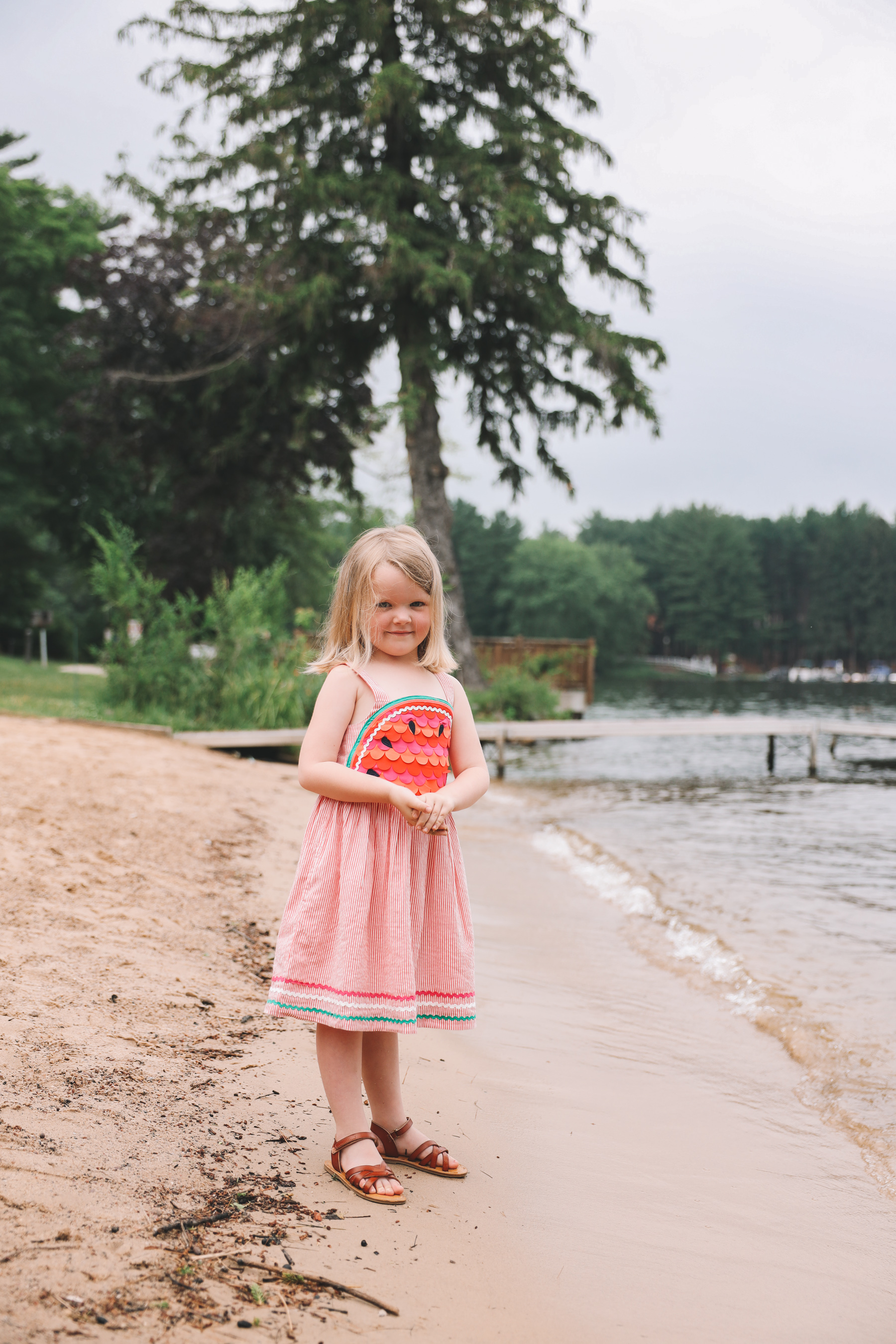 Kids watermelon dress