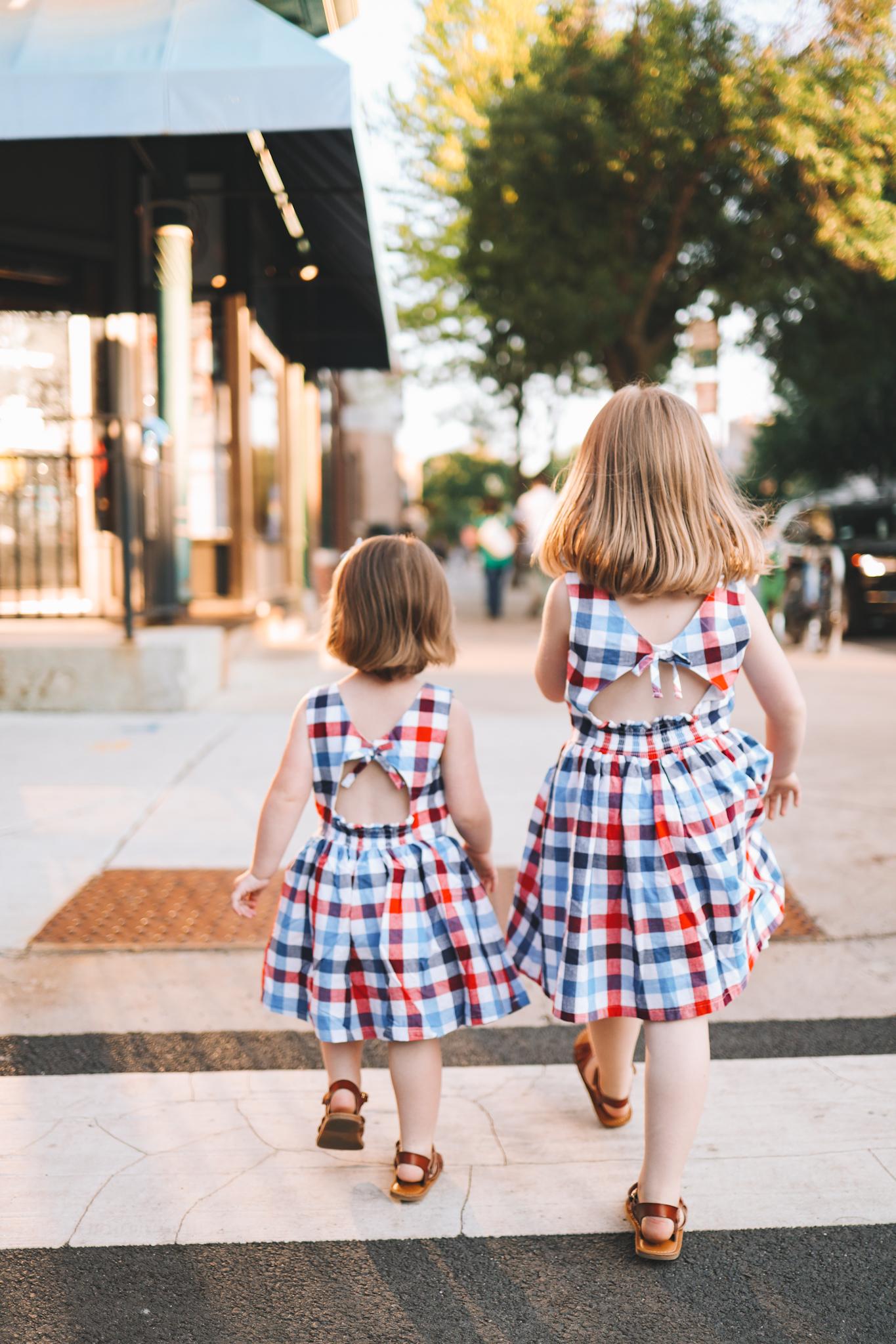 Toddler Gingham Dress   20+ Things 6/14