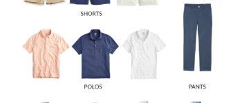 Mens Summer Capsule Wardrobe