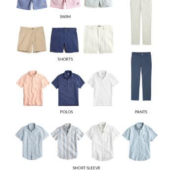 Mitch's Summer Capsule Wardrobe for Men
