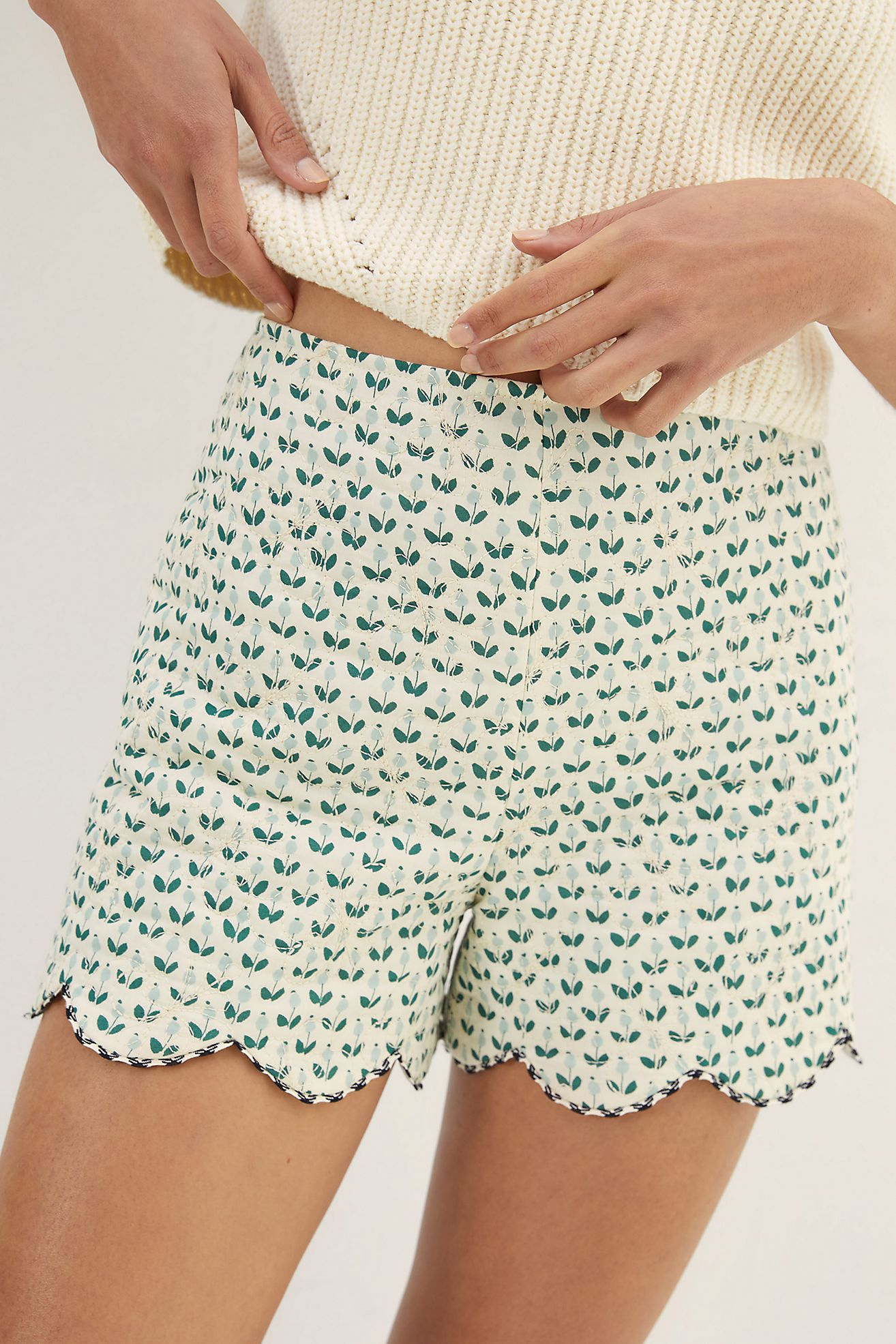 Scalloped Shorts | Recent Finds 7/9