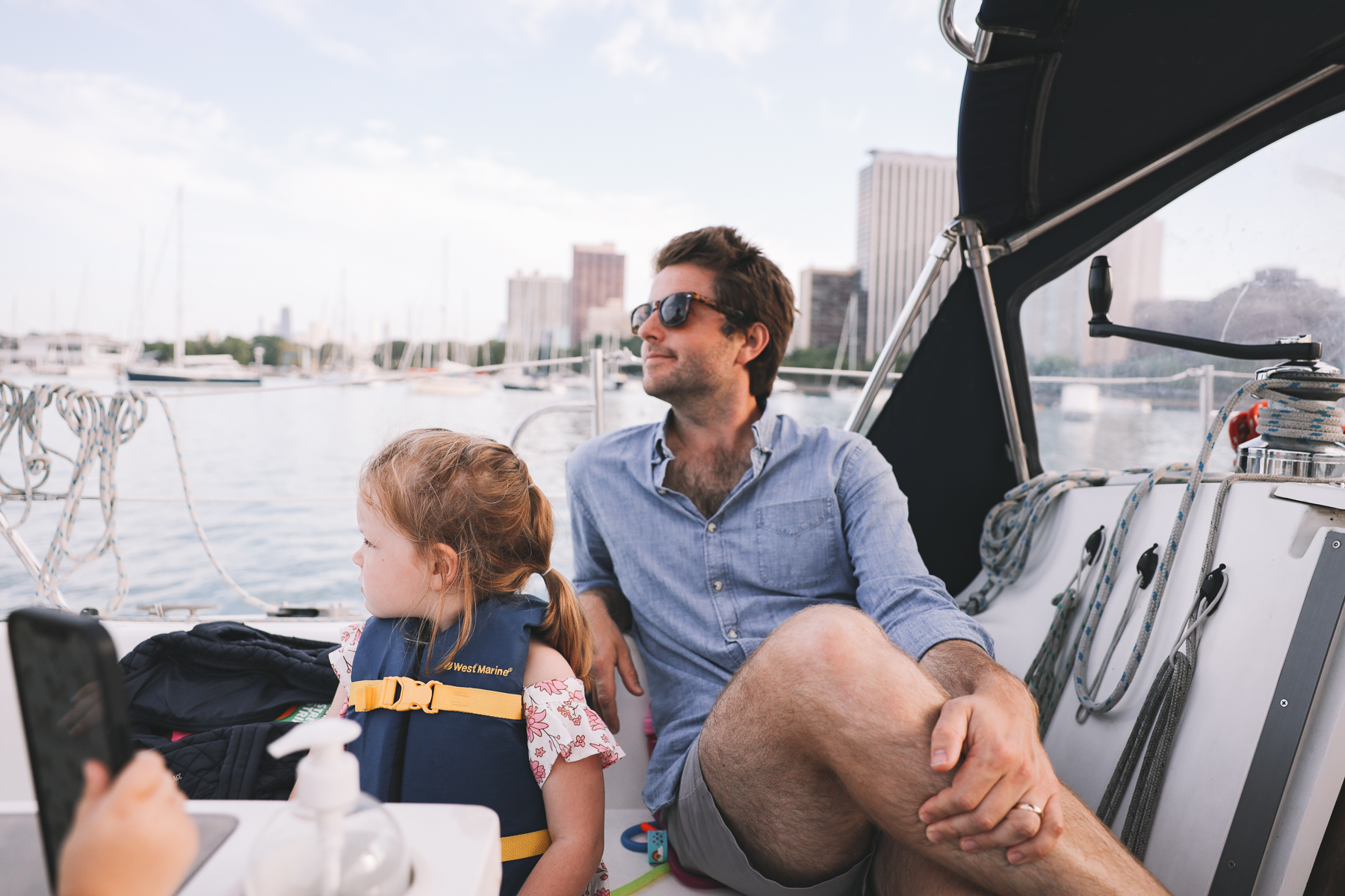 Belmont Harbor Chicago Boating Experience