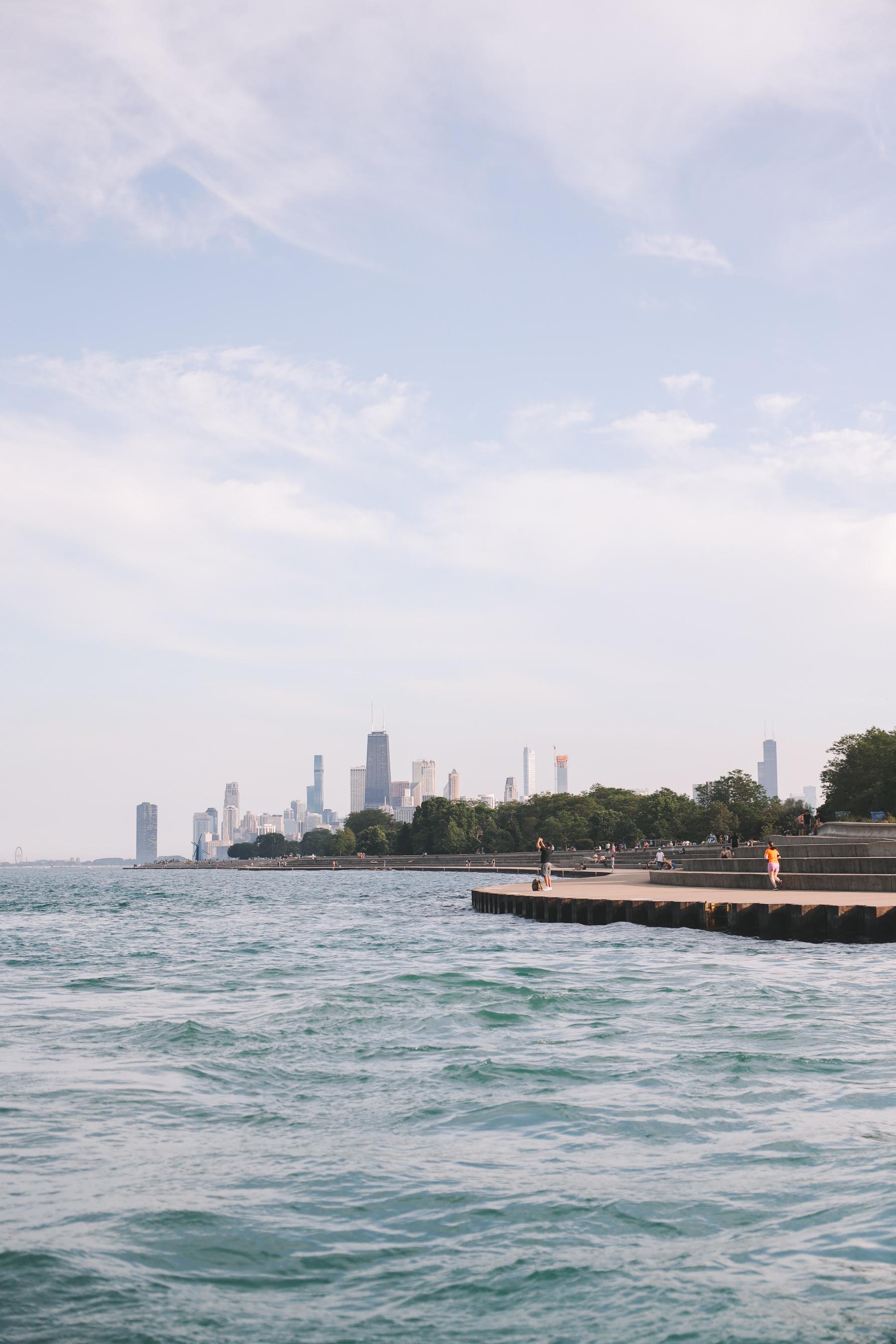 Sailing Lake Michigan in Chicago