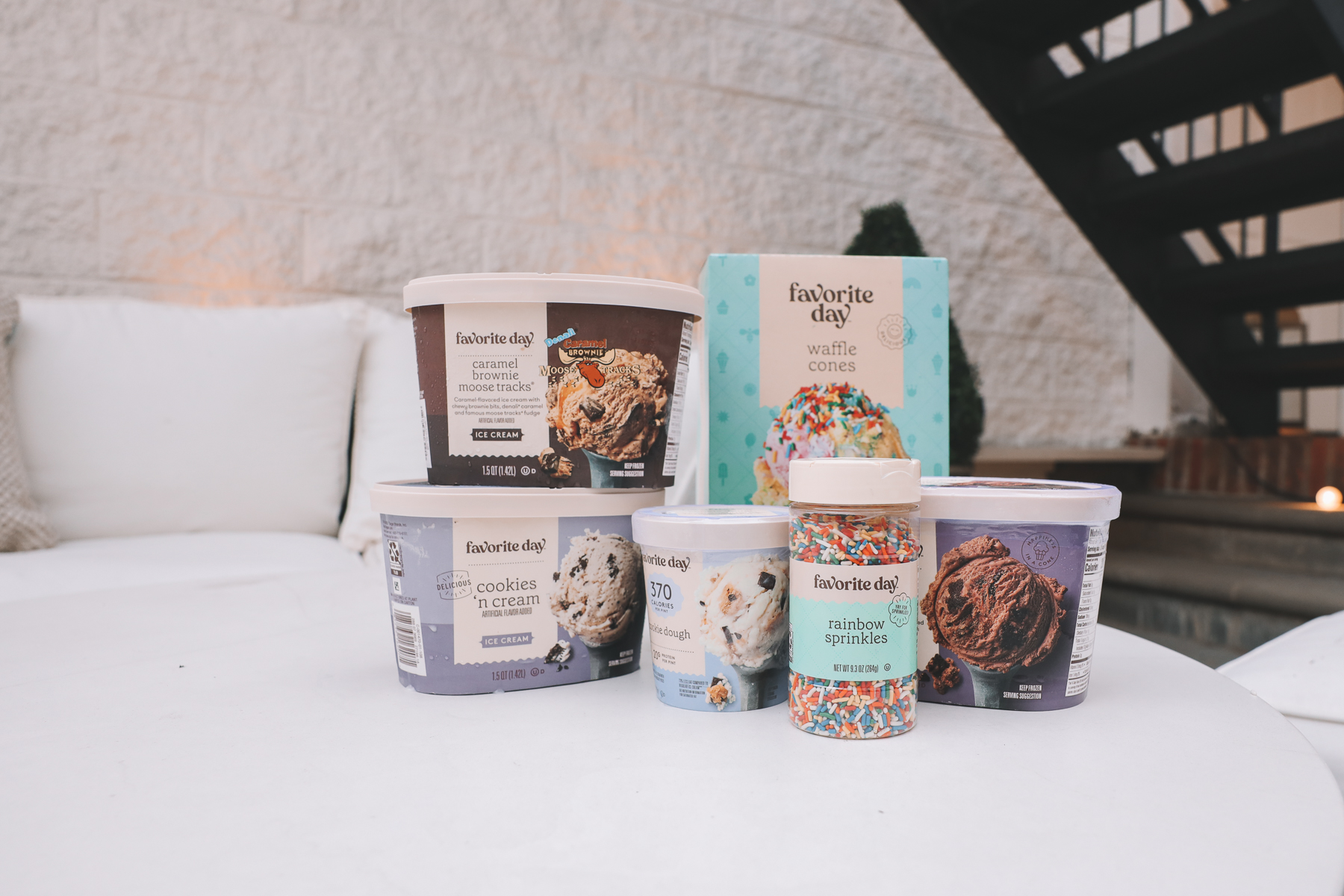 Target Favorite Day Ice Cream treats