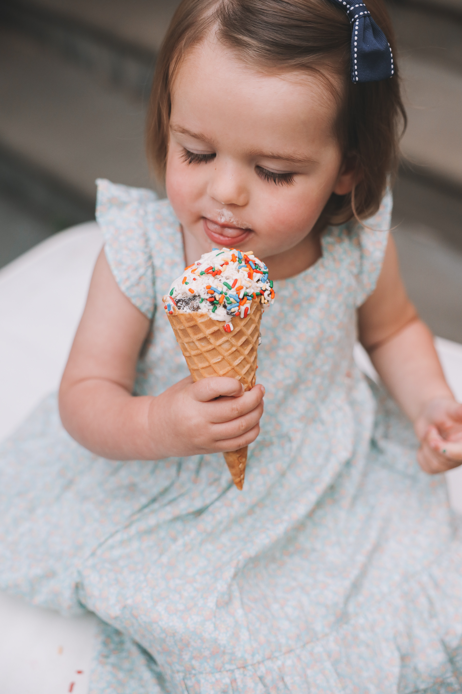 Favorite Day Ice Cream with sprinkles