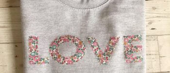 "Liberty of London ""LOVE"" Sweatshirt | 15 Cute Etsy Products"