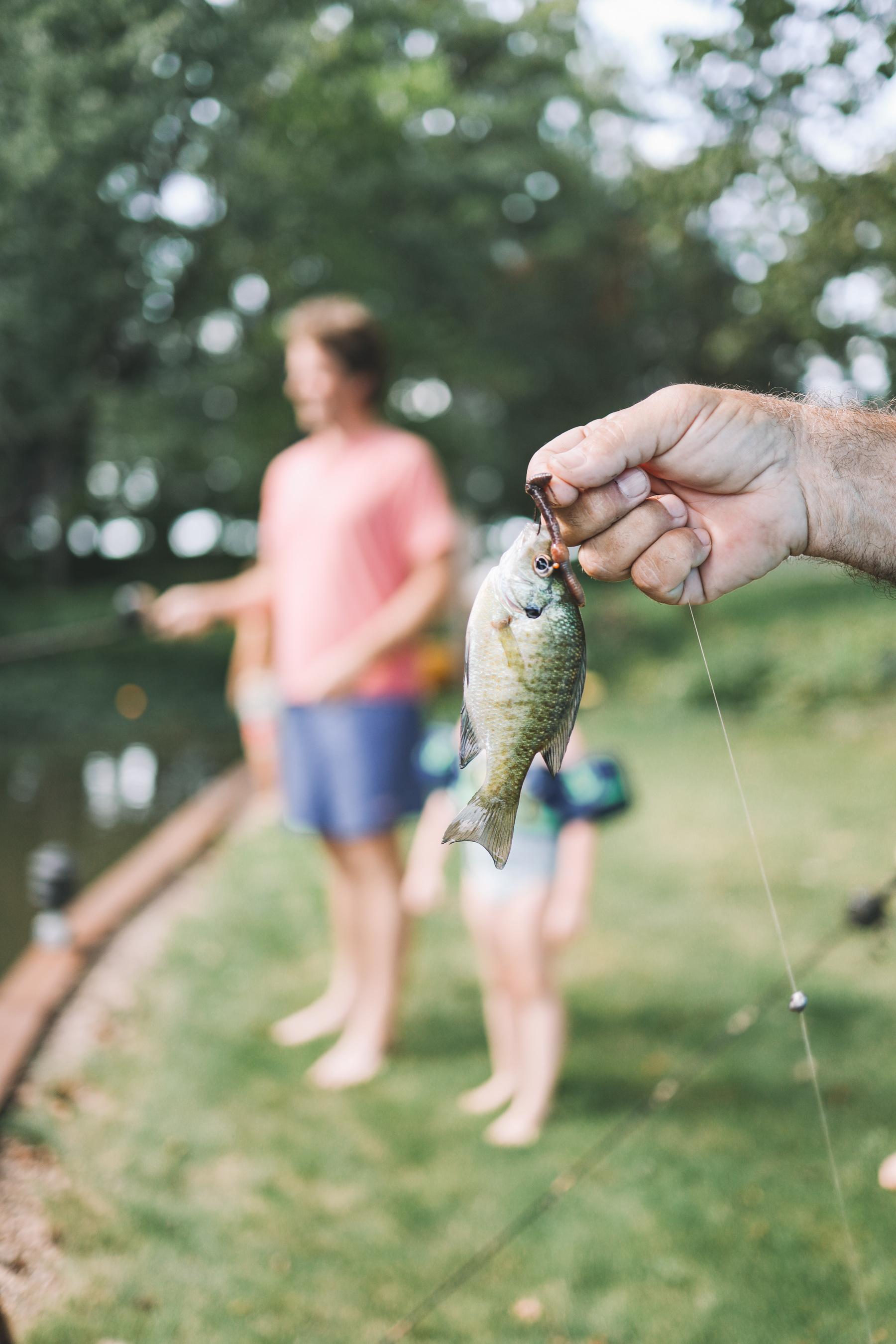 Fishing Gammy Camp 2021