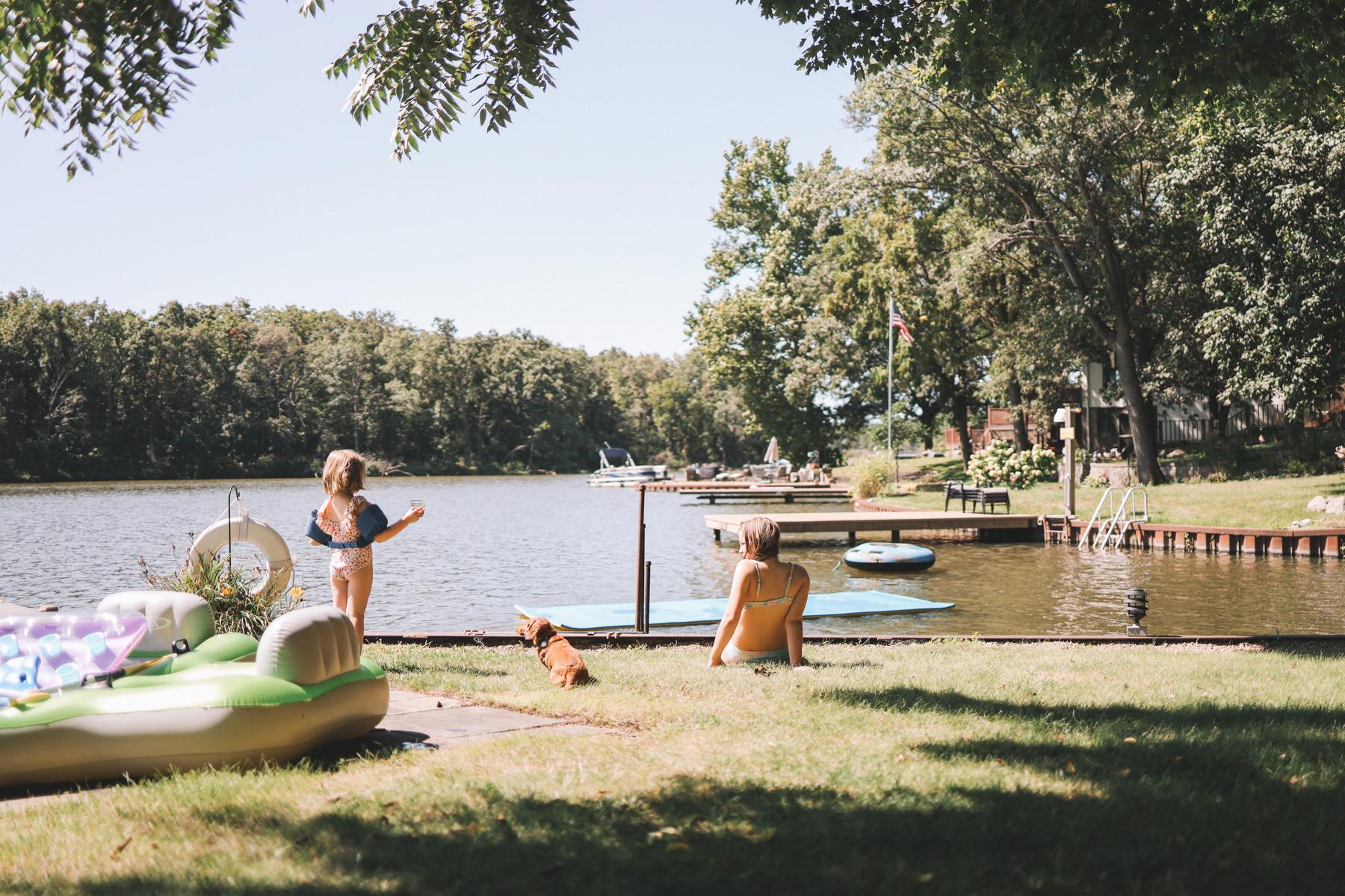 Fun summer in Lake Bloomington