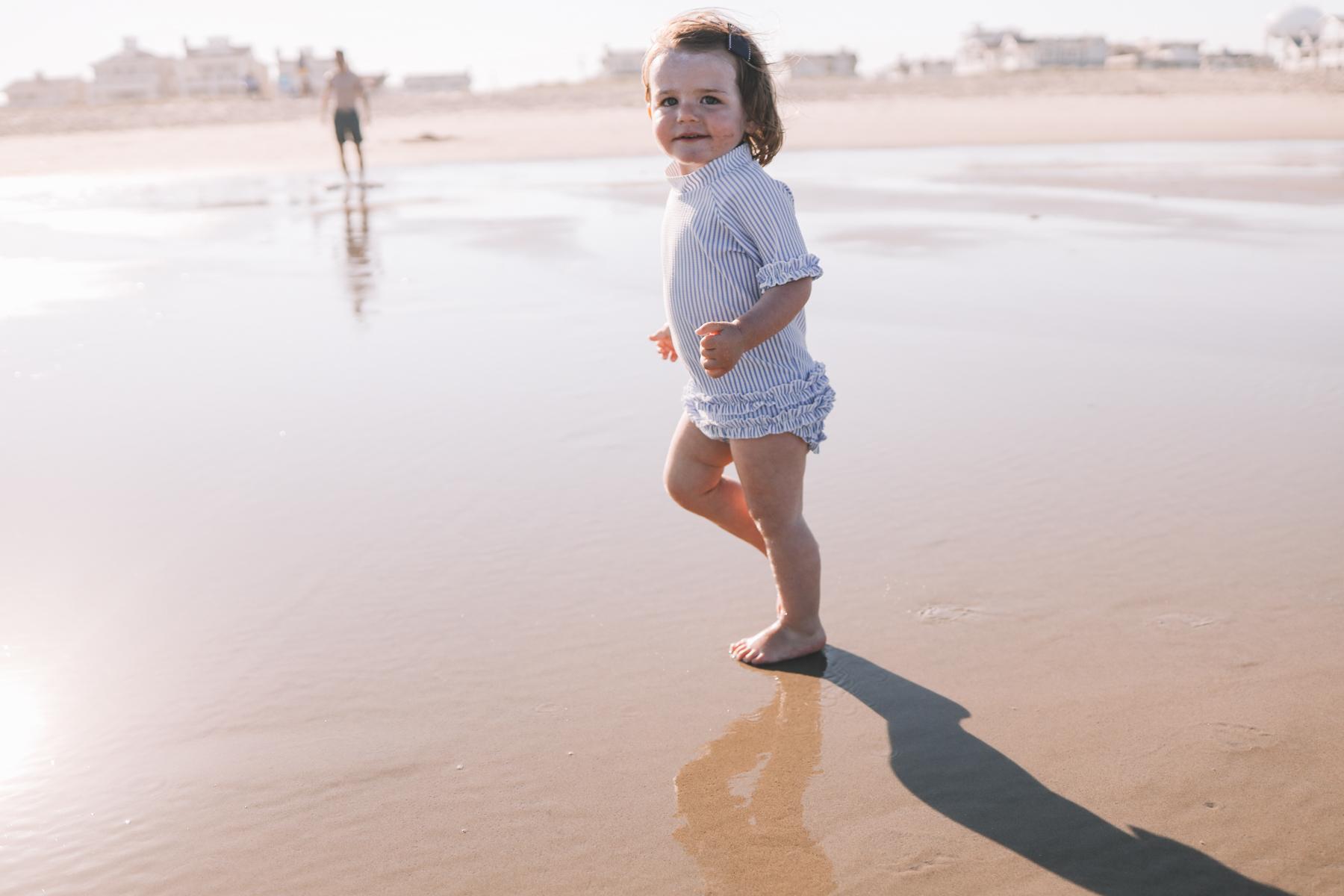 Ocean City Beach Days with little kids