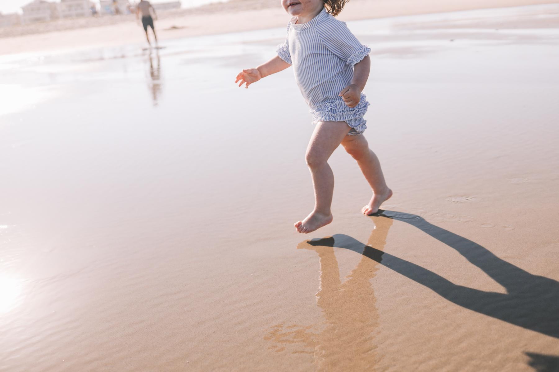 Toddler at Ocean City Beach