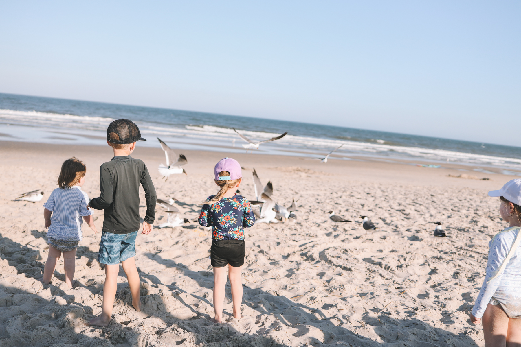 Kids time at the beach