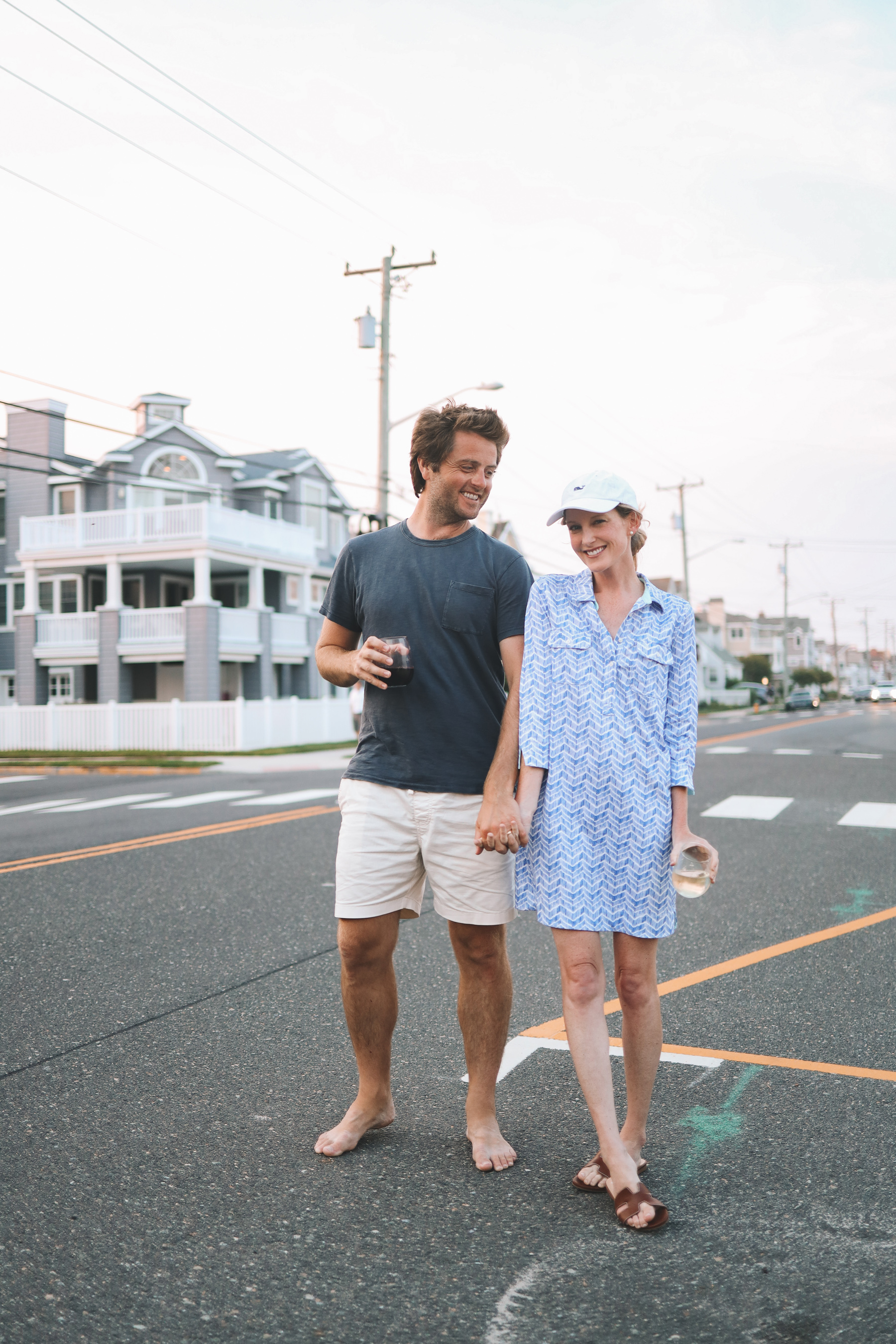 Vineyard Vines Dress and Hat   10 Things with Mitch 8/3