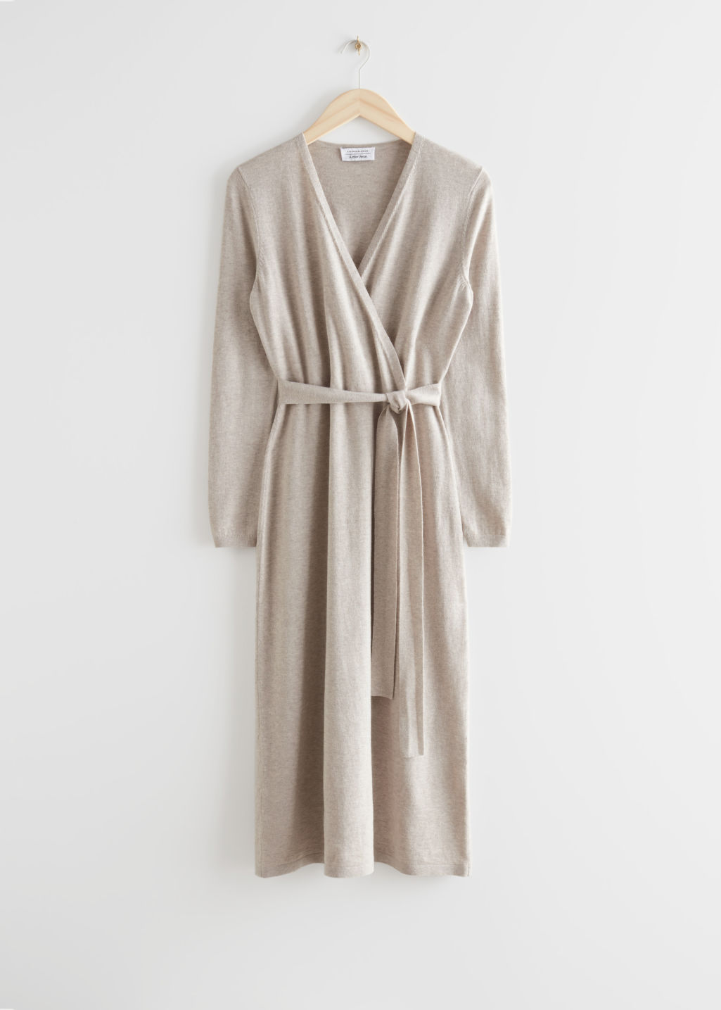 Belted Wool Dress Recent Finds 8/20