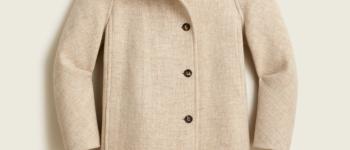 J.Crew Villa coat in Italian stadium-cloth wool   Recent Finds 9/17