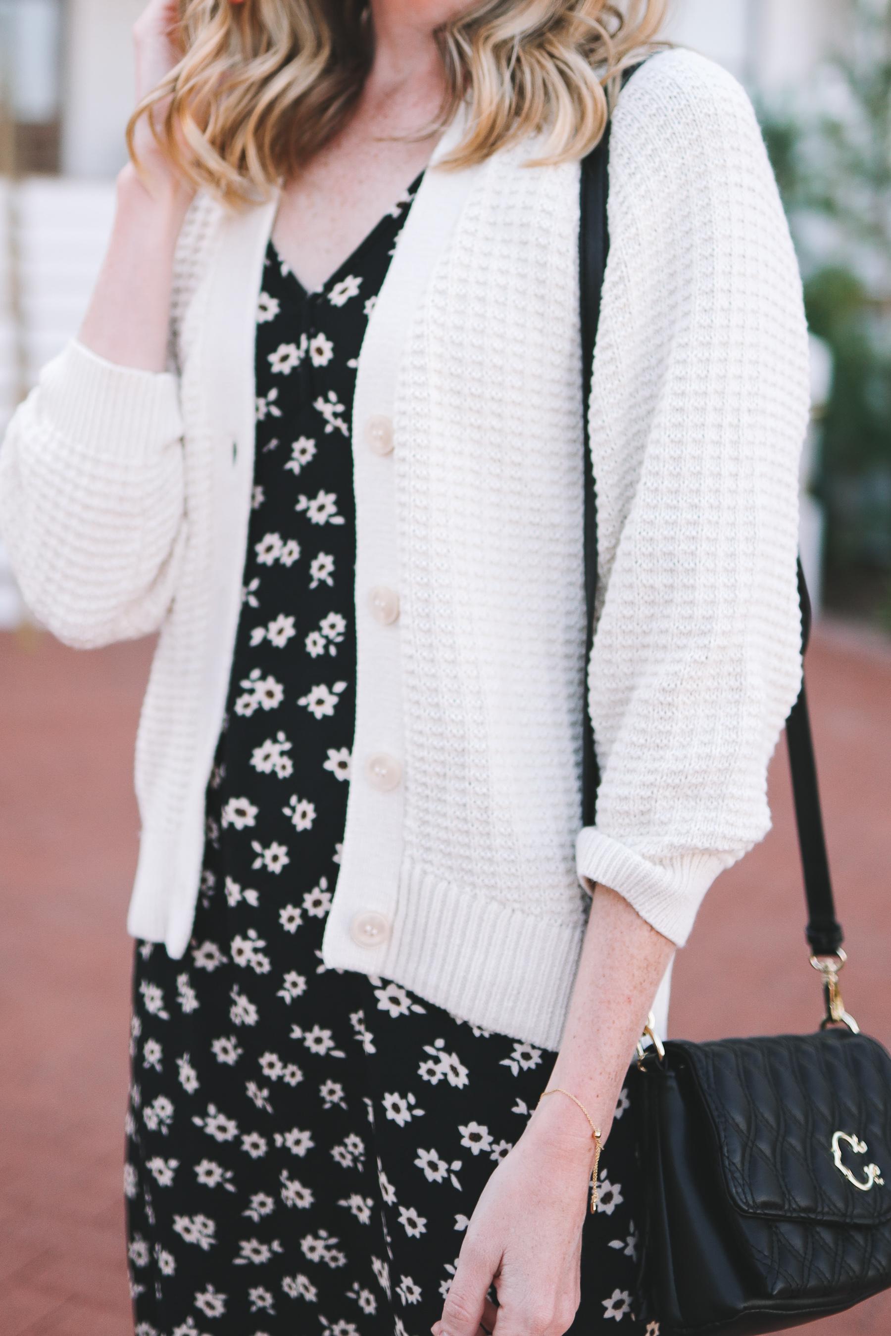 Scoop Women's Textured Cardigan