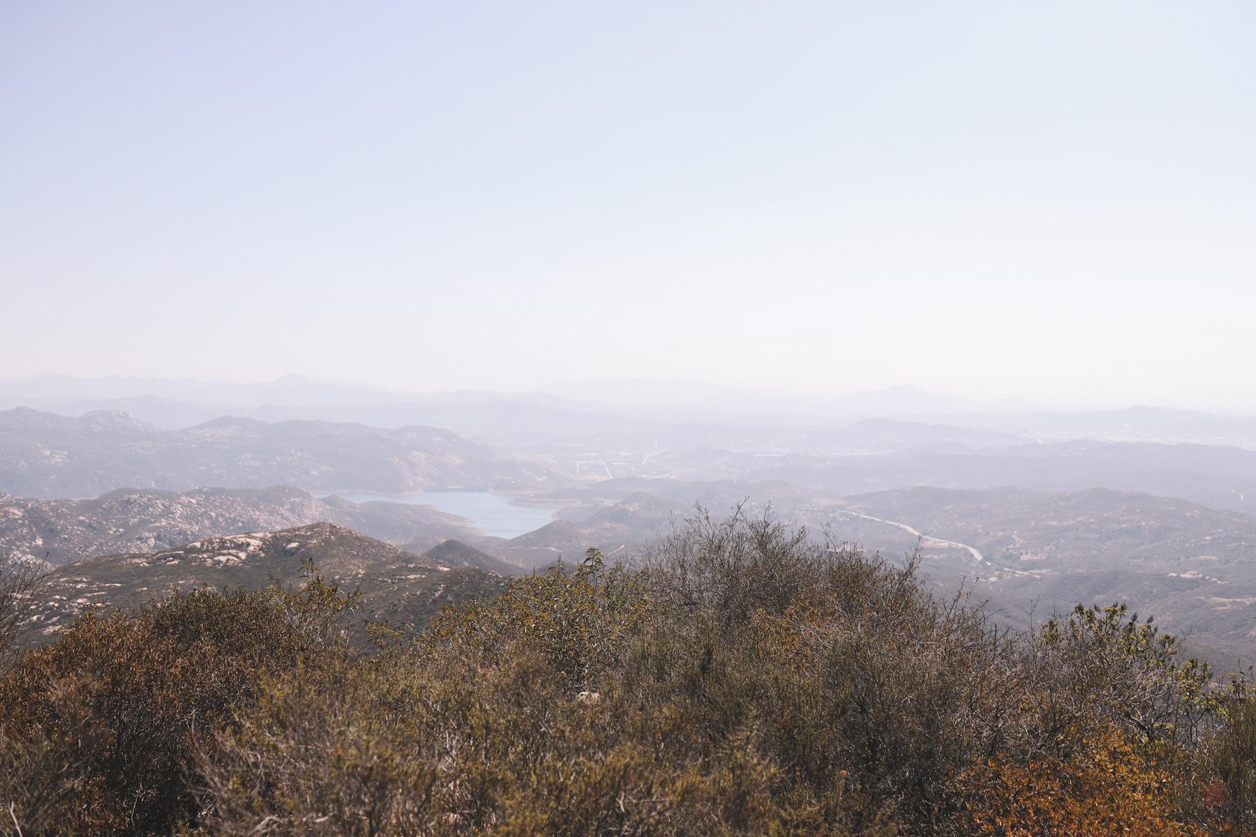 Iron Mountain Hike San Diego views