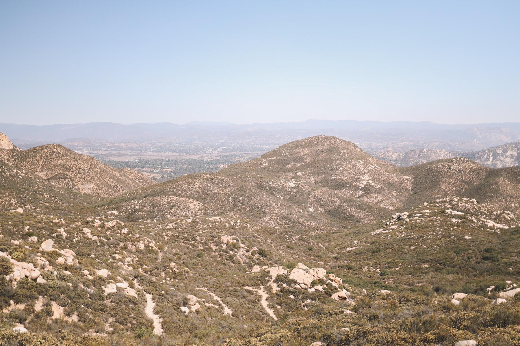 Iron Mountain Hike top view