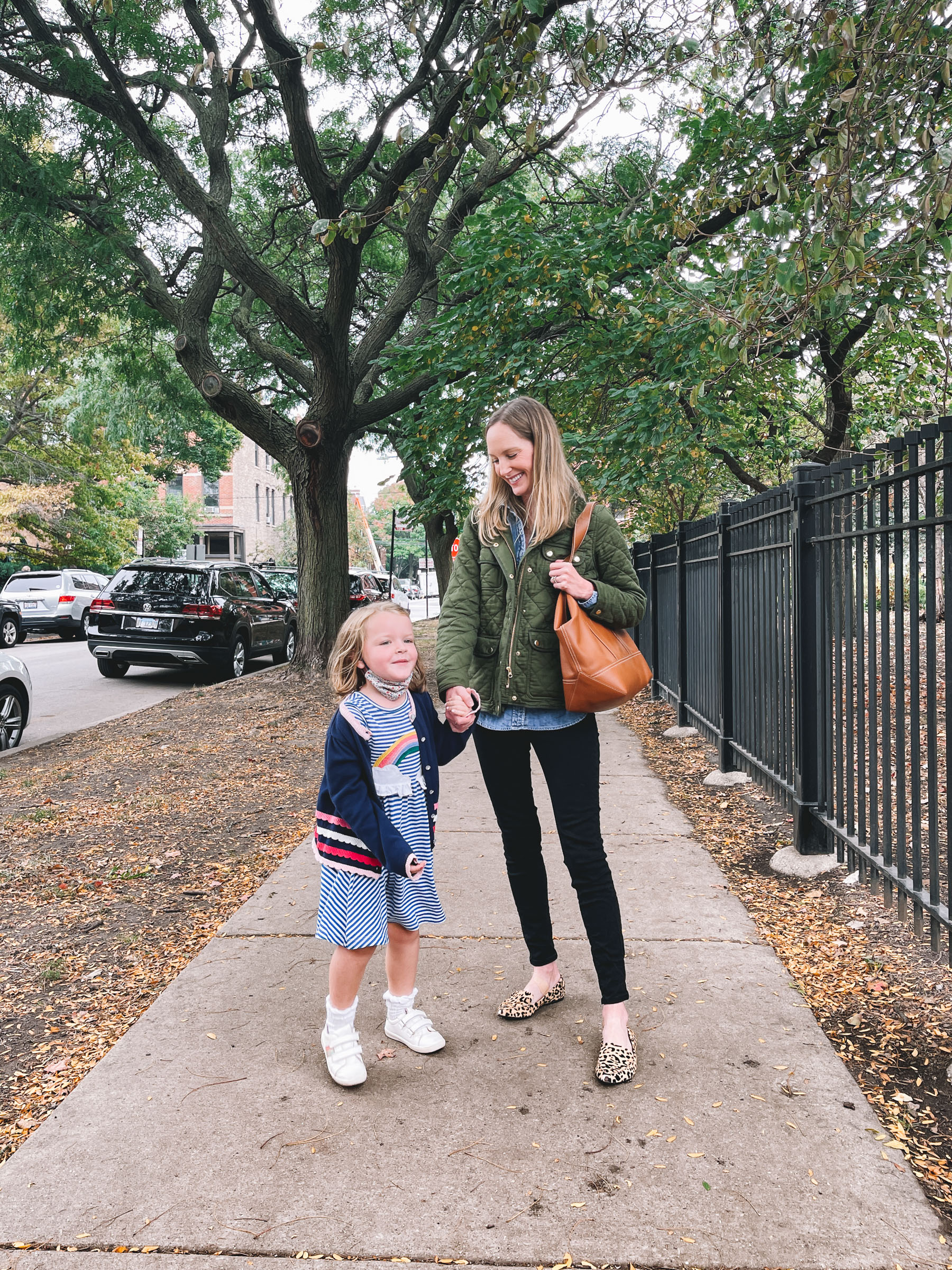 20 Things 10/6 - J.Crew Quilted downtown field jacket